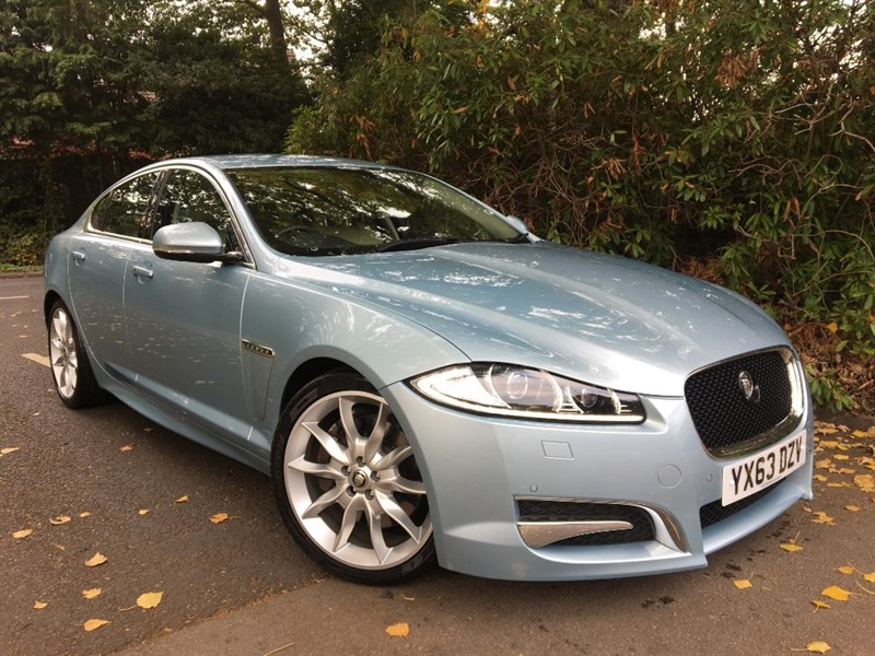 used Jaguar XF V6 PREMIUM LUXURY PETROL SUPERCHARGED+1 LADY OWNER FROM NEW in farnborough-hampshire