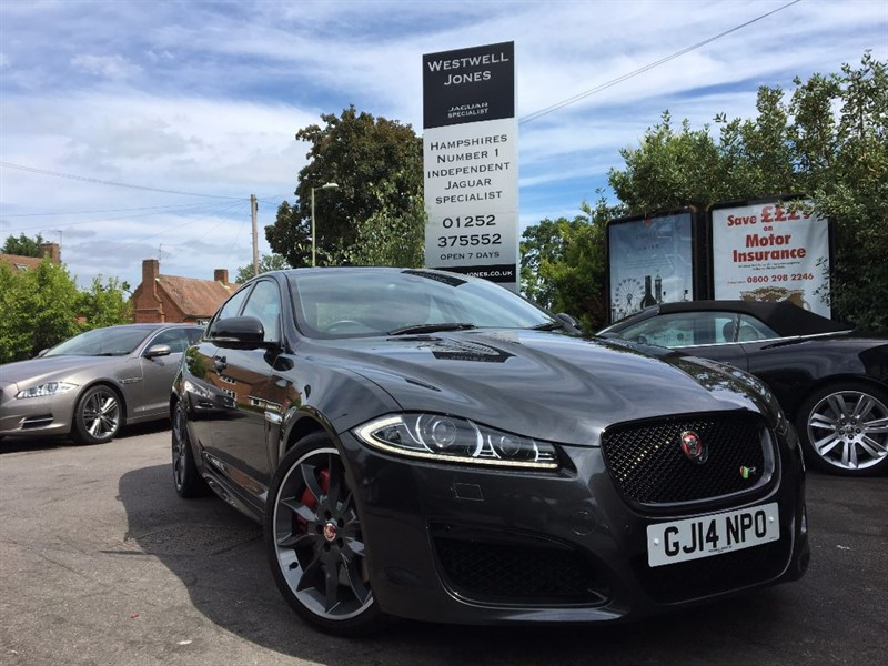 used Jaguar XFR V8 R SUPERCHARGED 510 BHP+BLACK PACK in farnborough-hampshire