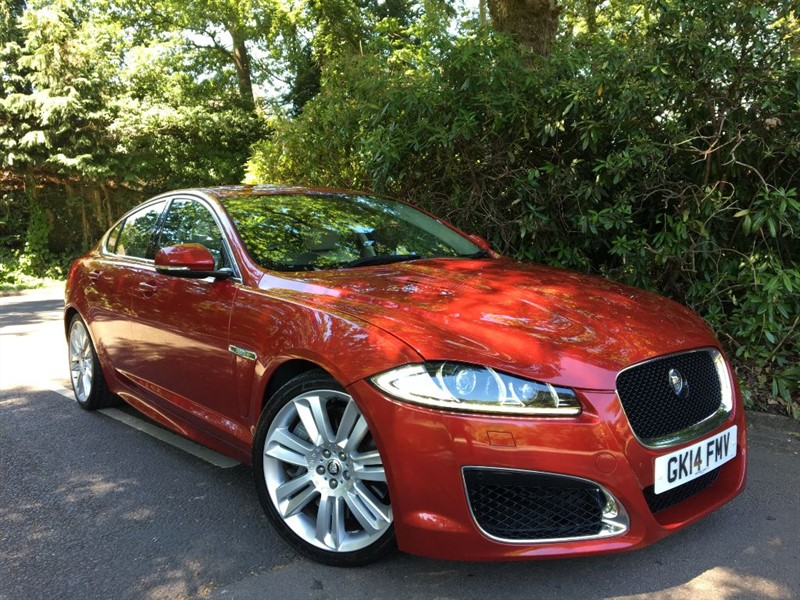 used Jaguar XFR 5.0 V8 R SUPERCHARGED / BEST COLOUR COMBINATION+4 JAGUAR MAIN AGENT STAMPS in farnborough-hampshire