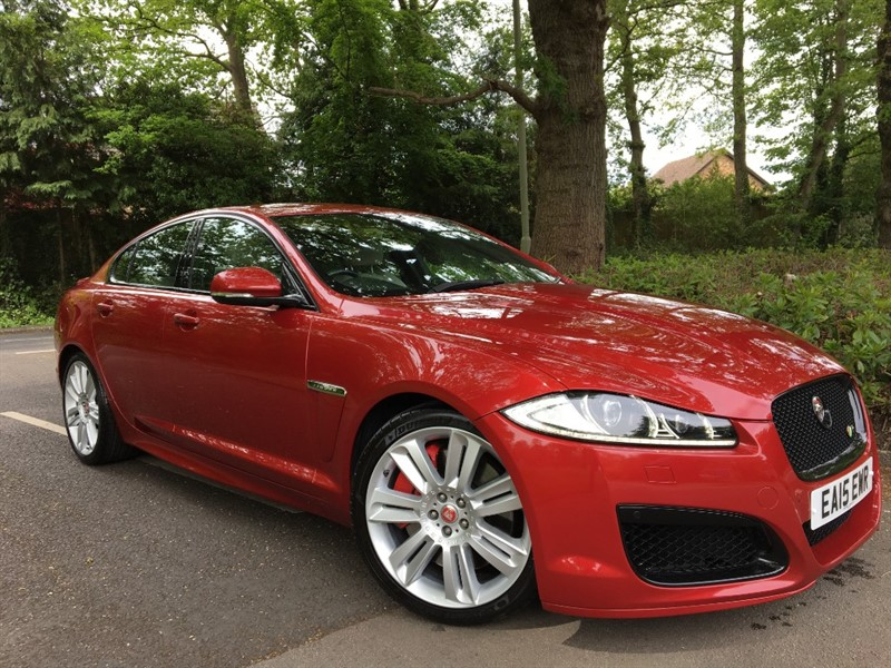 used Jaguar XFR V8 R 5.0 SUPERCHARGED+THE BEST COLOUR COMBINATION in farnborough-hampshire