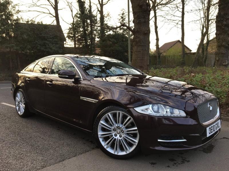 used Jaguar XJ D V6 PORTFOLIO+GREAT VALUE NEW SHAPE XJ IN THE BEST COLOUR COMBINATION in farnborough-hampshire