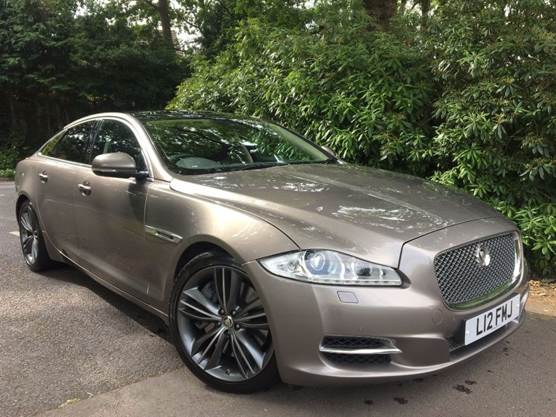 used Jaguar XJR 5.0 V8 SUPERCHARGED SUPERSPORT STANDARD WHEEL BASE WITH REAR ENTERTAINMENT in farnborough-hampshire