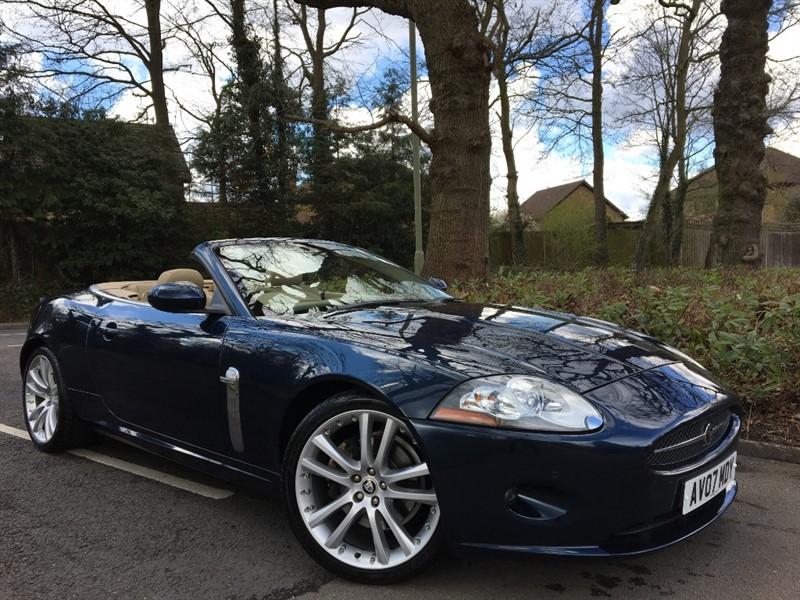 used Jaguar XK 4.2 V8 CONVERTIBLE+LOW MILEAGE+LOW OWNERSHIP in farnborough-hampshire
