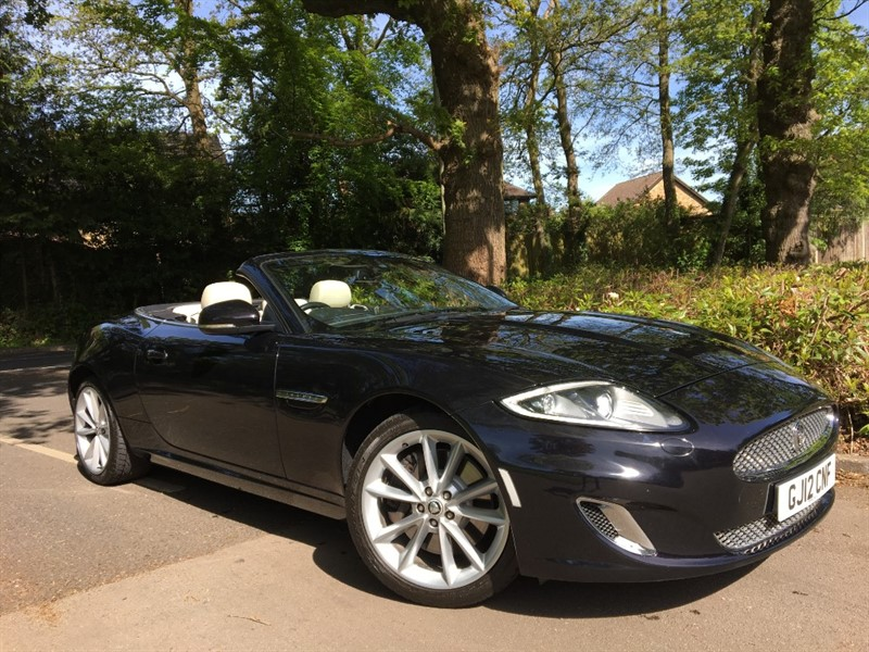 used Jaguar XK XK PORTFOLIO in farnborough-hampshire