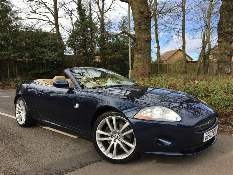 used Jaguar XK CONVERTIBLE in farnborough-hampshire