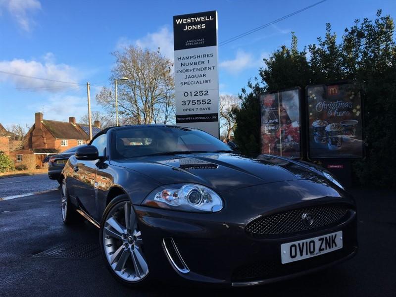 used Jaguar XK XK PORTFOLIO / EXTREMELY LOW MILEAGE in farnborough-hampshire