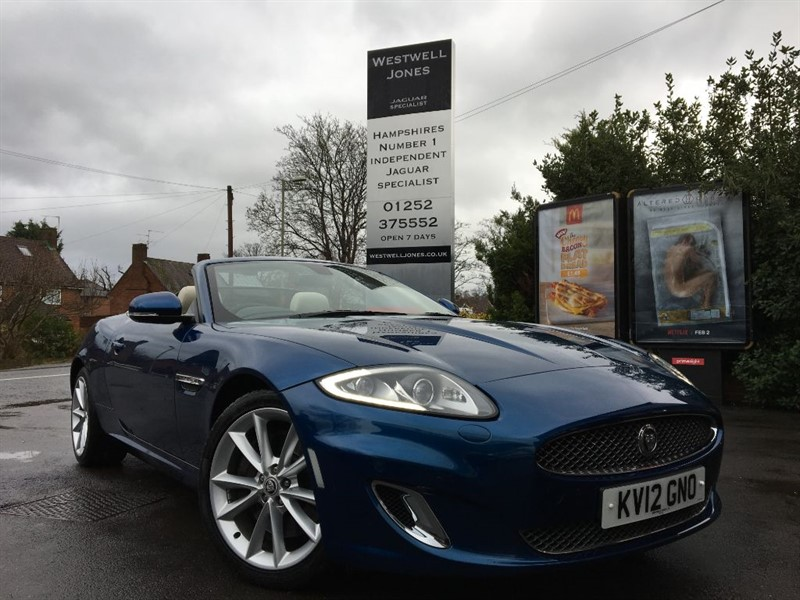 used Jaguar XK XK PORTFOLIO / THE BEST COLOURS in farnborough-hampshire