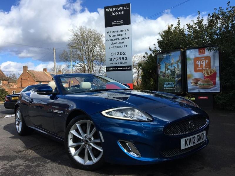 used Jaguar XK XK PORTFOLIO / THE BEST COLOURS in farnborough-hampshire