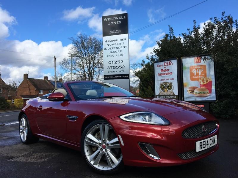 used Jaguar XK SIGNATURE / THE BEST COLOUR COMBINATION in farnborough-hampshire