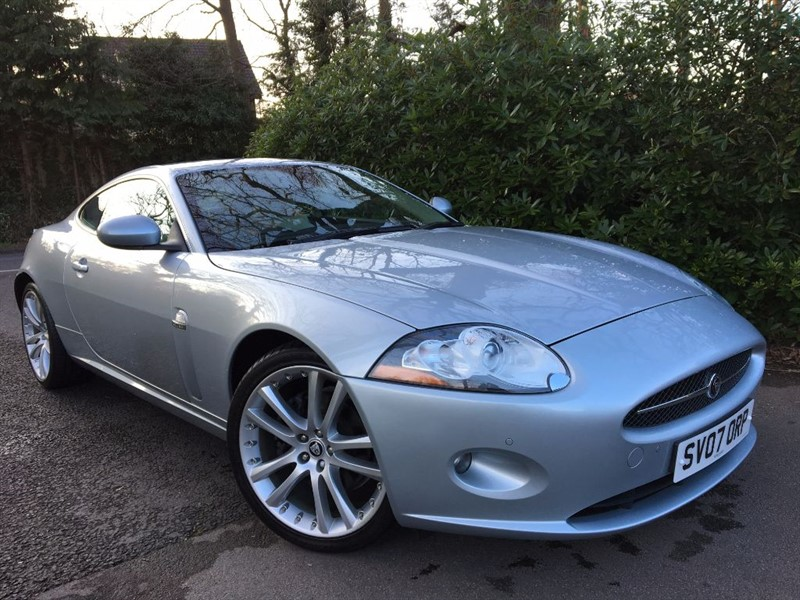 used Jaguar XK COUPE / EXTREMELY LOW MILEAGE EXAMPLE in farnborough-hampshire