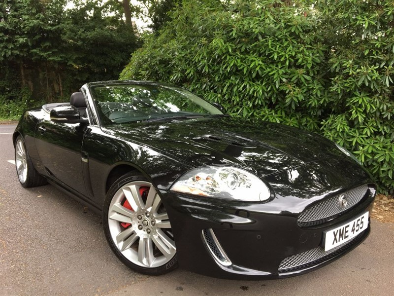 used Jaguar XKR XKR 5.0 SUPERCHARGED / ALL BLACK in farnborough-hampshire