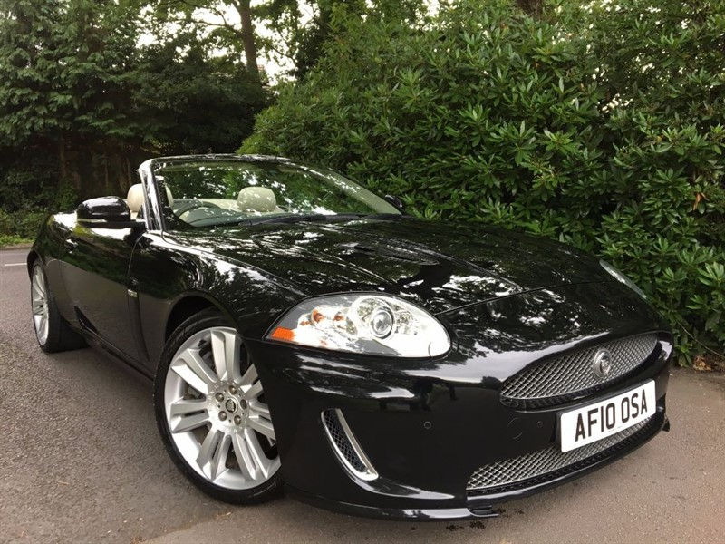 used Jaguar XKR XKR 5.0 SUPERCHARGED / JUST SERVICED in farnborough-hampshire
