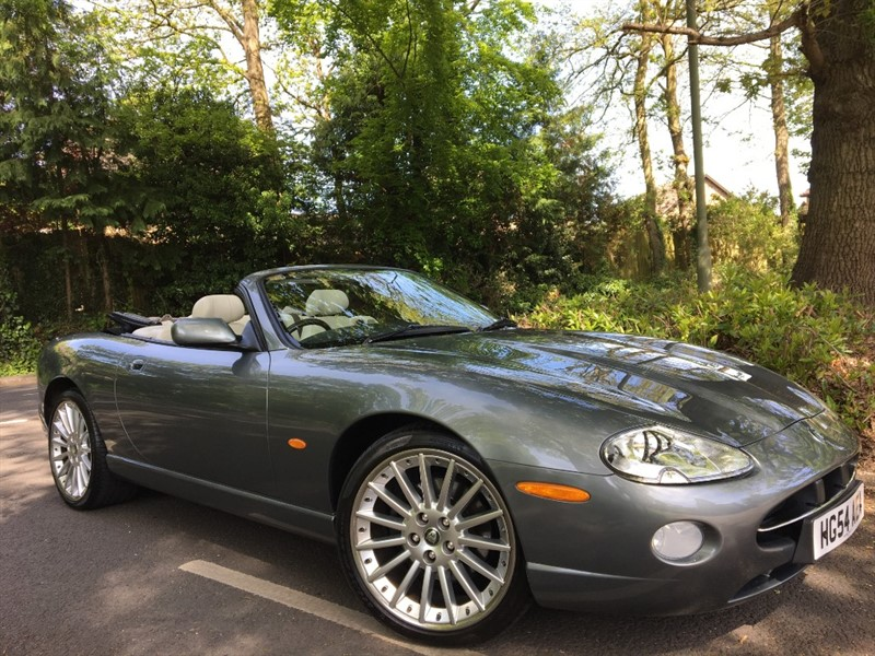 used Jaguar XK8 CONVERTIBLE / COLLECTABLE 1 OWNER WITH LOW MILEAGE EXAMPLE in farnborough-hampshire