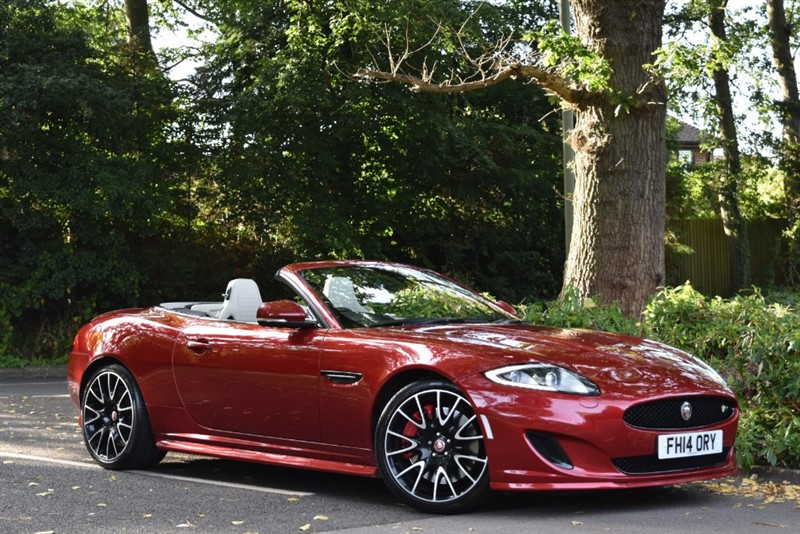 used Jaguar XKR DYNAMIC R 5.0 SUPERCHARGED+THE BEST COLOUR COMBINATION+BLACK PACK in farnborough-hampshire