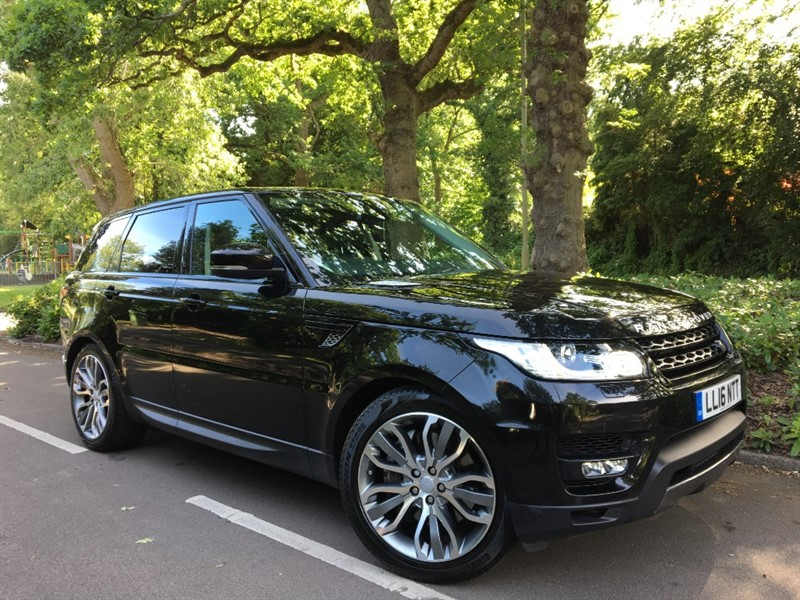 used Land Rover Range Rover Sport SDV6 HSE DYNAMIC+7 SEATS in farnborough-hampshire
