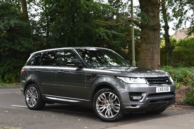 used Land Rover Range Rover Sport V8 AUTOBIOGRAPHY DYNAMIC SUPERCHARGED+PANORAMIC SUNROOF in farnborough-hampshire