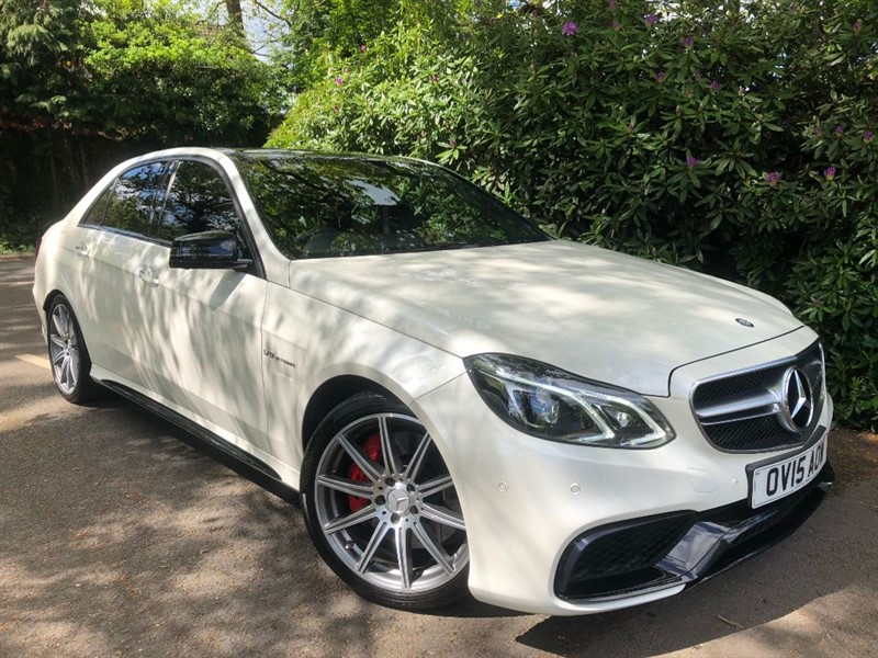 used Mercedes E63 AMG S / PANORAMIC ROOF / 360 CAMERA in farnborough-hampshire
