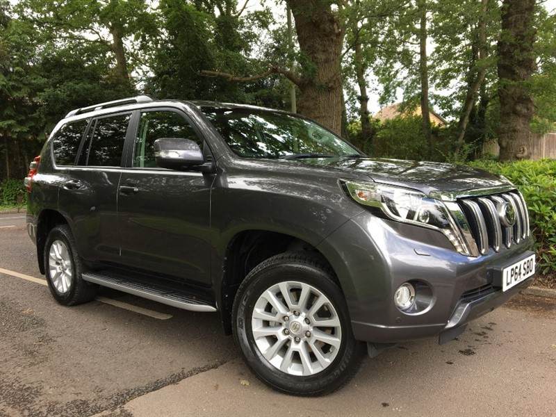 used Toyota Land Cruiser D-4D INVINCIBLE+EXTREMELY DESIRABLE in farnborough-hampshire