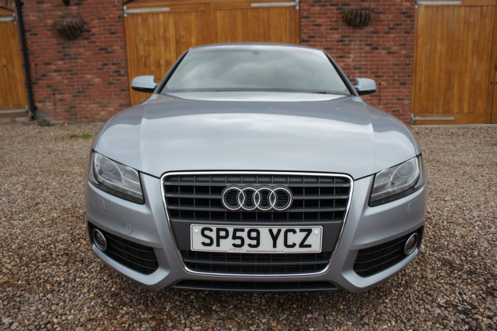 Used Akoya silver Audi A5 for Sale | West Yorkshire