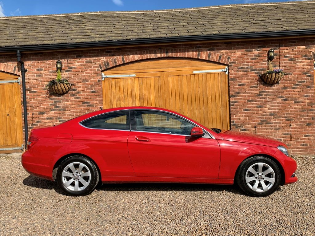 Used Red Mercedes C220 for Sale | West Yorkshire