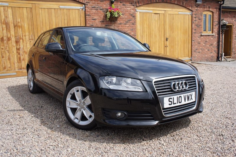 used Audi A3 SPORTBACK TDI SPORT, FULL AUDI SERVICE HISTORY, £30 ROAD TAX in in-west-yorkshire