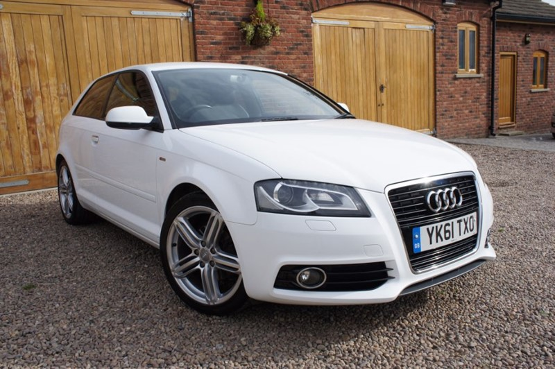 used Audi A3 TDI S LINE, FULL AUDI SERVICE HISTORY INCLUDING CAM BELT in in-west-yorkshire