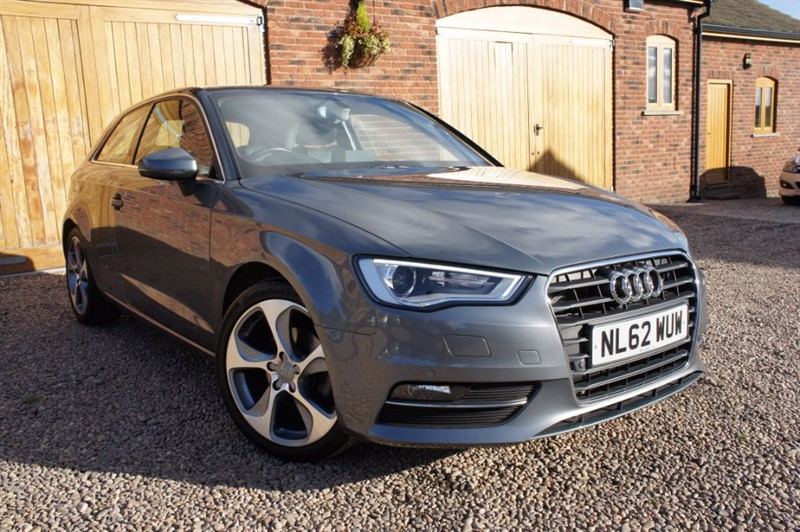 used Audi A3 TDI SPORT, FULL SERVICE HISTORY, SAT NAV, BLUETOOTH in in-west-yorkshire