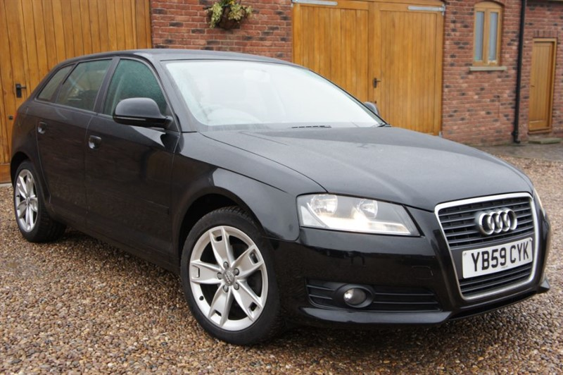 used Audi A3 SPORTBACK 2.0 TDI SPORT 1 OWNER STUNNING CAR in in-west-yorkshire