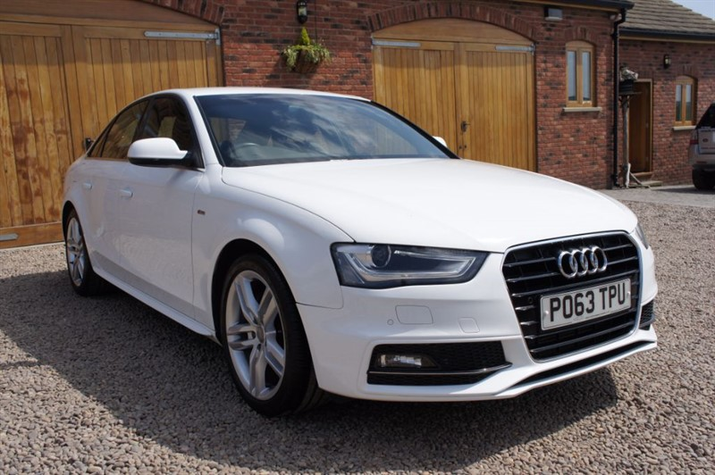 used Audi A4 TDI S LINE, FULL AUDI SERVICE HISTORY, £30 PER YEAR ROAD TAX in in-west-yorkshire