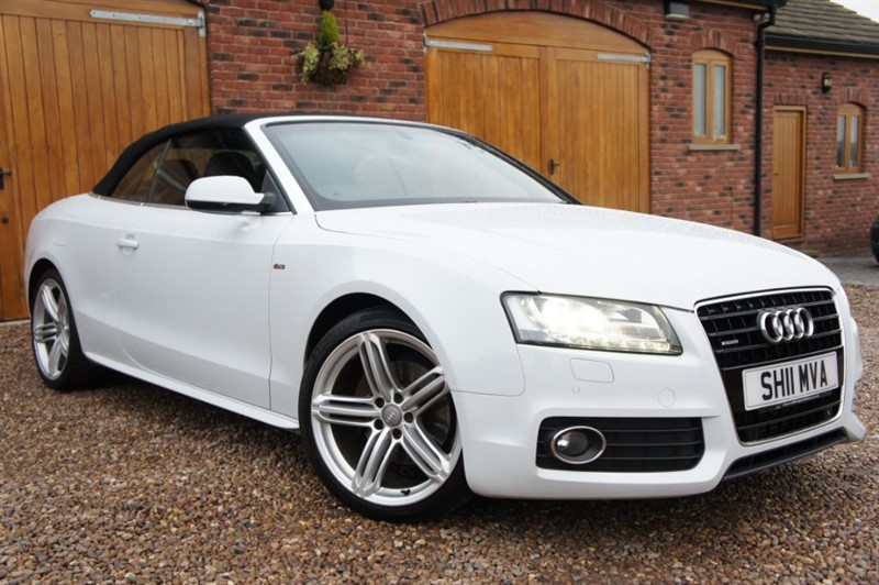 used Audi A5 TDI 3.0 QUATTRO S LINE AUTO GREAT SPECIFICATION STUNNING CONDITION in in-west-yorkshire
