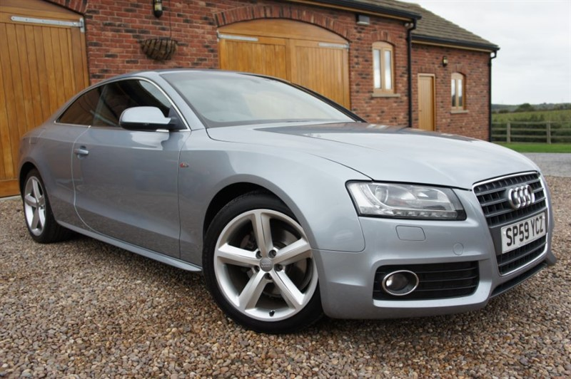 used Audi A5 TDI S LINE in in-west-yorkshire