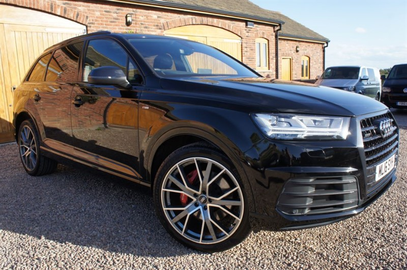 used Audi Q7 TDI QUATTRO S LINE 272 bhp. BLACK EDITION in in-west-yorkshire