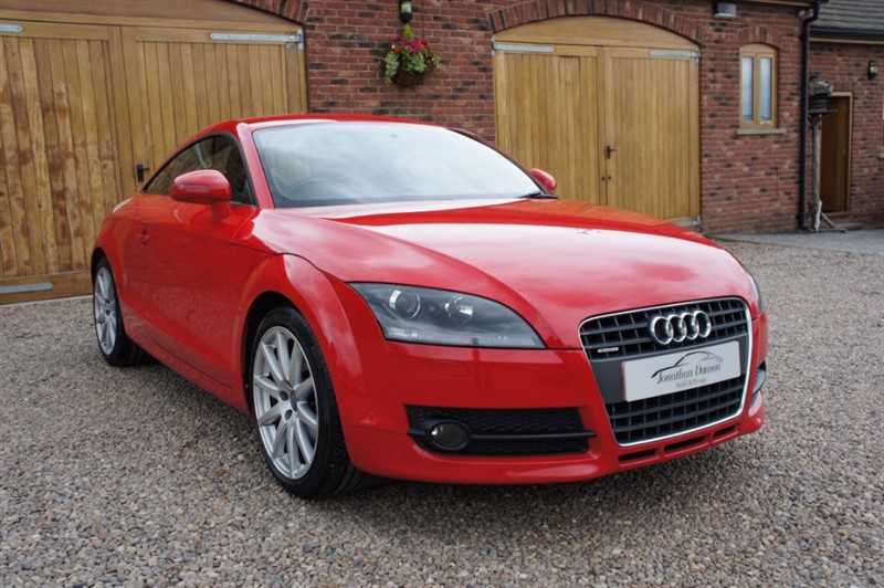 used Audi TT TDI QUATTRO, FULL SERVICE HISTORY INCLUDING TIMING BELT AND WATER PUMP in in-west-yorkshire
