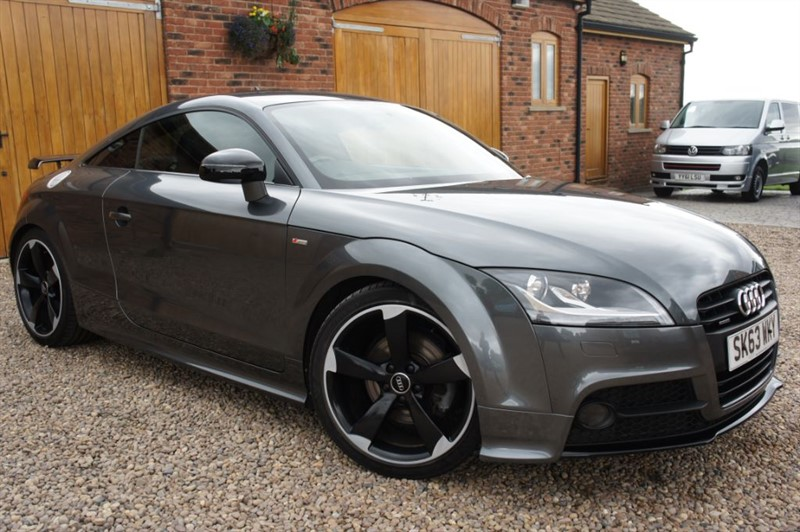 used Audi TT TDI QUATTRO BLACK EDITION in in-west-yorkshire