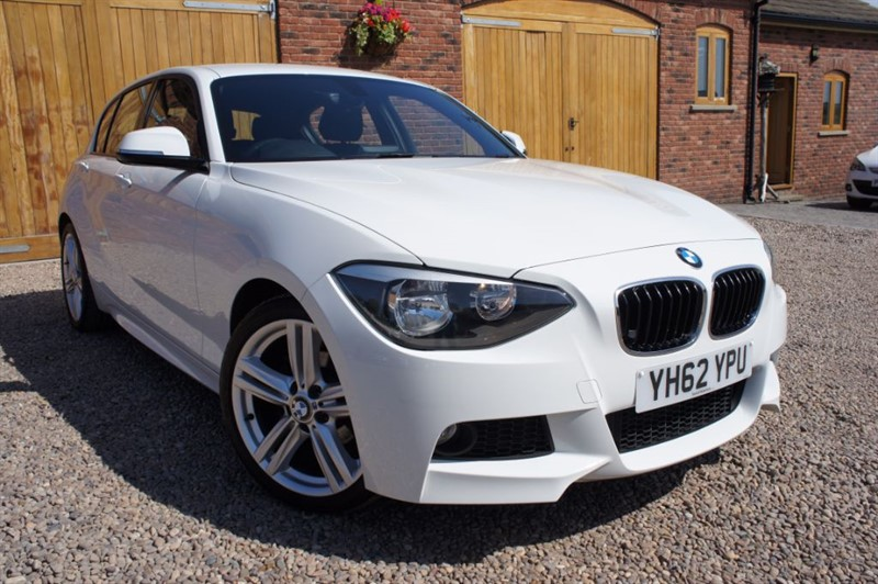 used BMW 116i M SPORT, FULL SERVICE HISTORY, BLUETOOTH, STOP/START in in-west-yorkshire
