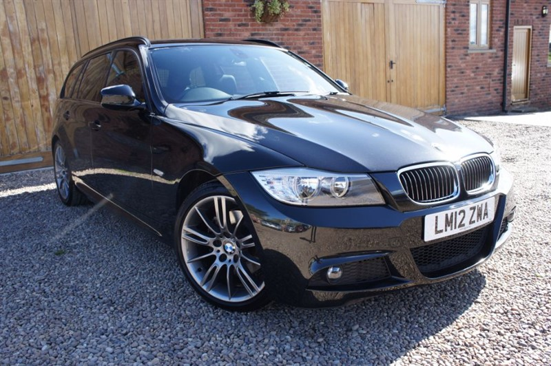 used BMW 318d SPORT PLUS EDITION TOURING, FULL SERVICE HISTORY in in-west-yorkshire