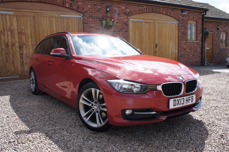 used BMW 320d SPORT TOURING, FULL SERVICE HISTORY, BEAUTIFUL EXAMPLE in in-west-yorkshire