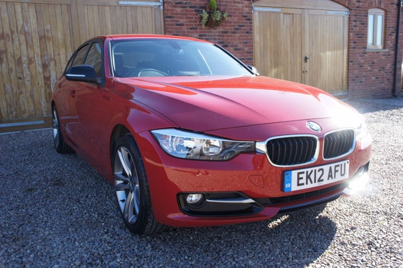 used BMW 320d SPORT, FULL BMW SERVICE HISTORY, HEATED LEATHER, SAT NAV in in-west-yorkshire