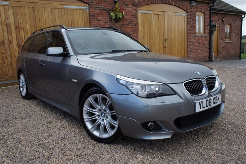 used BMW 525d M SPORT TOURING, FULL BMW SERVICE HISTORY in in-west-yorkshire