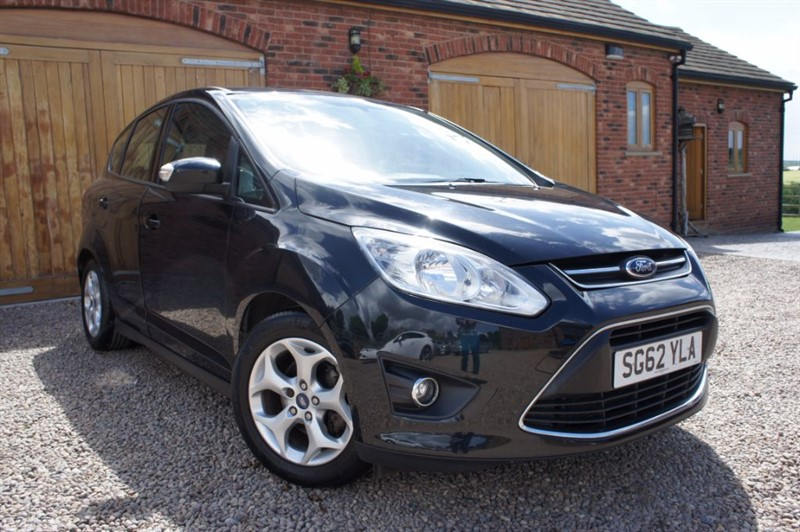 used Ford C-Max ZETEC TDCI, FULL FORD SERVICE HISTORY, PARKING SENSORS, BLUETOOTH in in-west-yorkshire