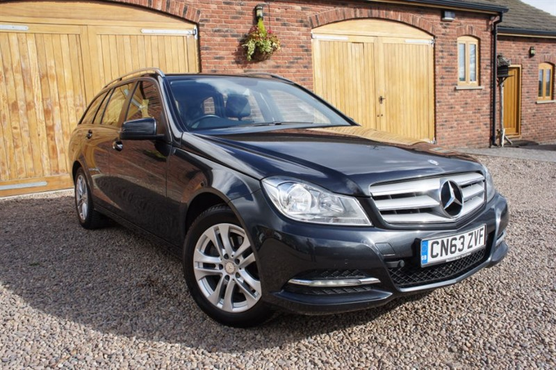 used Mercedes C220 SE S/S, FULL MERCEDES SERVICE HISTORY, SAT NAV, BLUETOOTH in in-west-yorkshire