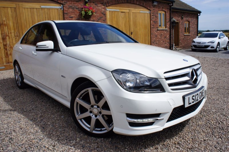 used Mercedes C250 CDI BLUEEFFICIENCY SPORT, FULL MERC SERVICE HISTORY, AMG ALLOYS, BLUETOOTH in in-west-yorkshire