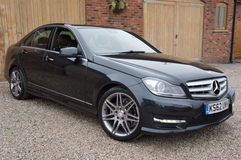 used Mercedes C250 CDI BLUE EFFICIENCY AMG SPORT PLUS SAT NAV in in-west-yorkshire