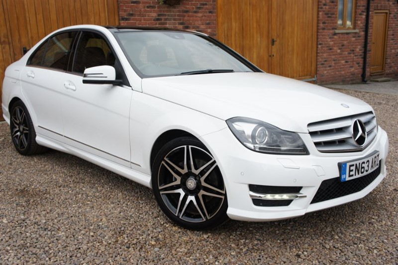 used Mercedes C250 CDI BLUE EFFICIENCY AMG SPORT PLUS in in-west-yorkshire