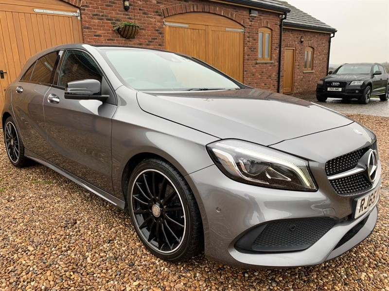 used Mercedes  A-CLASS A 200 D AMG LINE PREMIUM PLUS in in-west-yorkshire