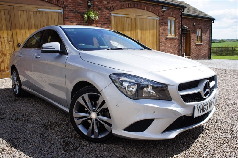 used Mercedes CLA 220 CDI SPORT, 1 OWNER FROM NEW, £30 ROAD TAX, FULL MERCEDES SERVICE HISTORY in in-west-yorkshire