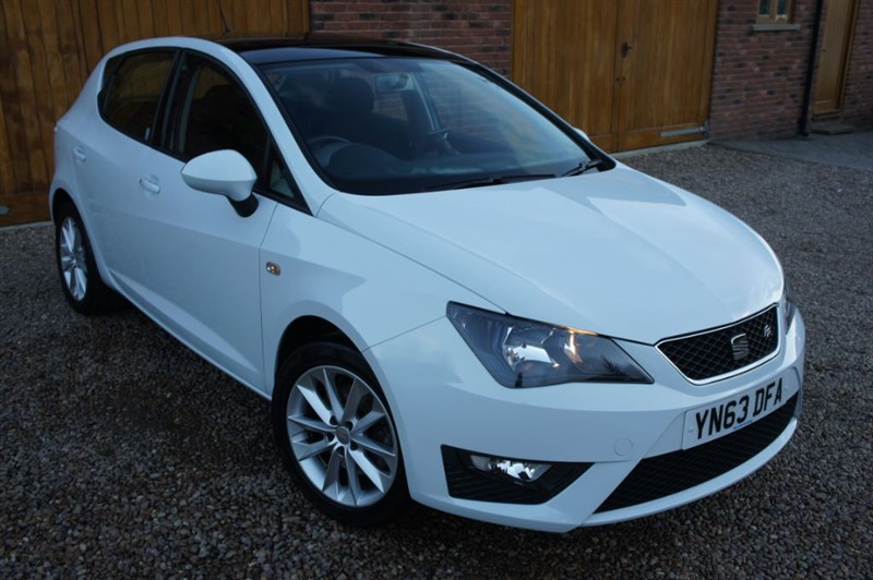 used SEAT Ibiza CR TDI FR in in-west-yorkshire
