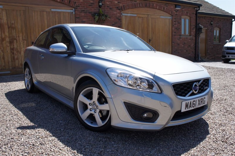used Volvo C30 D2 R-DESIGN, LEATHER INTERIOR, CRUISE CONTROL, £30 ROAD TAX in in-west-yorkshire