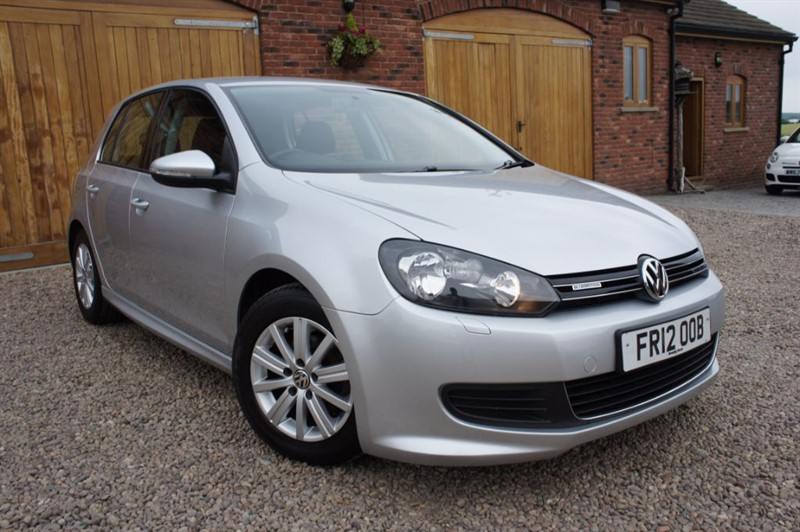 used VW Golf S TDI BLUEMOTION, FULL SERVICE HISTORY, ZERO ROAD TAX, AIR CON in in-west-yorkshire