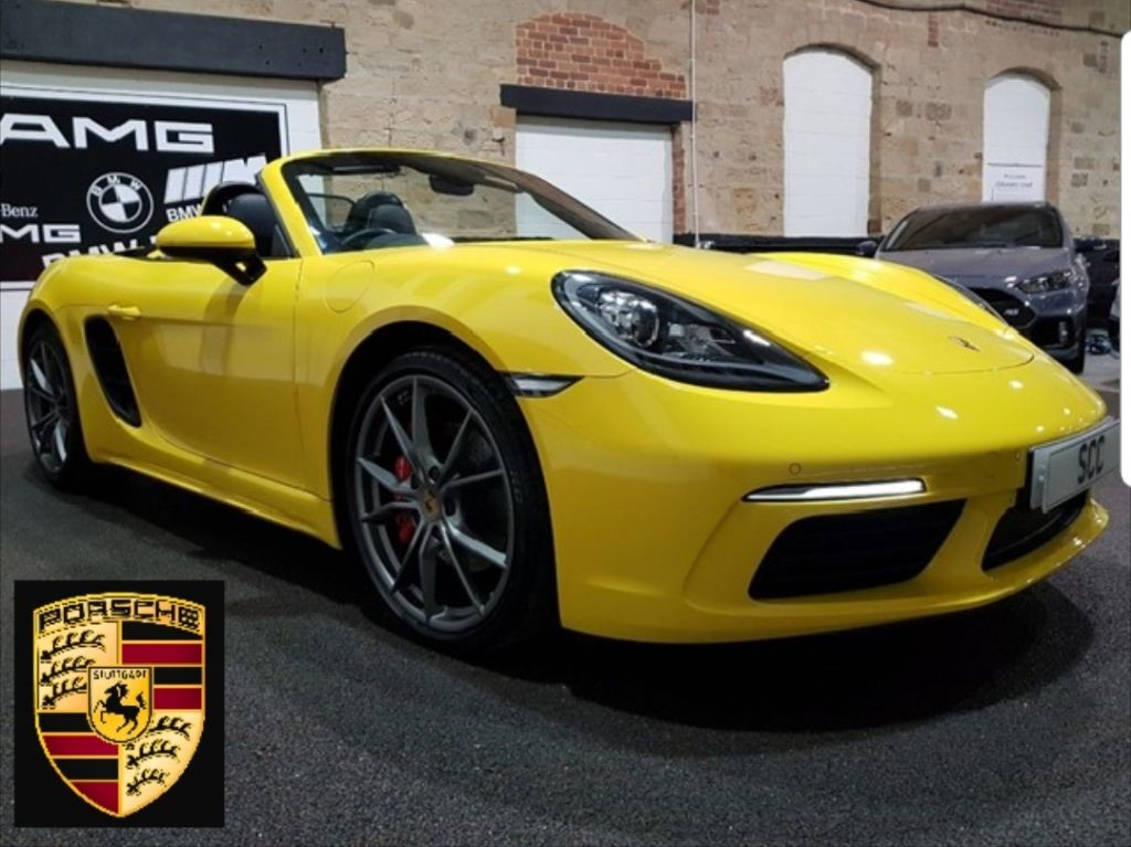 Boxster For Sale >> Used Porsche 718 Boxster For Sale Guiseley West Yorkshire